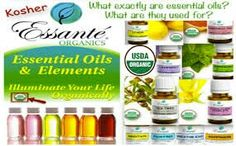 Essante ORGANICS provides the ONLY #USDA certified #organic #essentialoils, in the world!