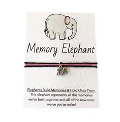 Hey, I found this really awesome Etsy listing at https://www.etsy.com/listing/229196437/elephant-friendship-bracelet-charm