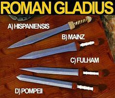 Gládios romanos                                                                                                                                                                                 More