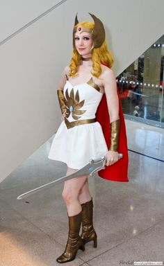 Photo of Fire Lily cosplaying She-Ra (She-Ra Princess of Power)  sc 1 st  Pinterest & 13 best She-Ra images on Pinterest | Costumes Cosplay costumes and ...
