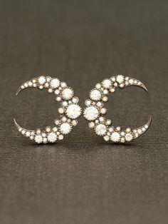 Cute Moon Earrings.