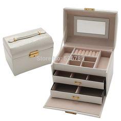 De alta qualidade caixa de jóias caixa de caixão para jóias caixa de maquiagem requintada organizador de jóias graduação presente de aniversário para a menina em Exposição & embalo de jóias de Jóias no AliExpress.com | Alibaba Group
