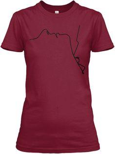 Couple Love Shirt Custom Made Cardinal Red T-Shirt Front