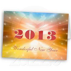 2013 - Wonderful New Year - Card