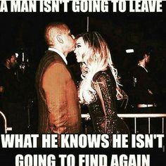 True man's love ...