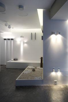 HALO Architectural Lighting Showroom   eDje architects   athens Greece