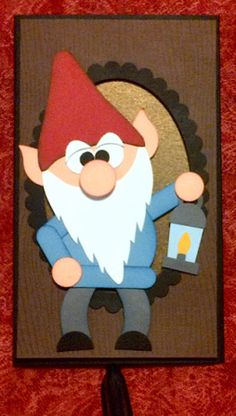 Whas Up Gnomie??  made with SU punches by craftiepants  Stampin' Up!