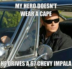 Who's the guy so super fly, angels fall out of da sky? Dean! #Supernatural