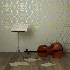 Stradivari by Osborn little for bedroom or foyer