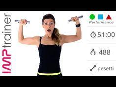 Fitness Workout Intenso: Allenamento ad Alta Intensità + Core Stability - YouTube