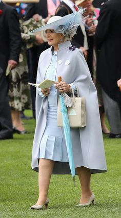 Princess Michael of Kent attends the third day of Royal Ascot at Ascot Racecourse  on June 15, 2016 in Ascot, England.