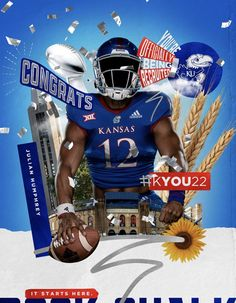 College Football Recruiting, Football Helmets, Kansas, Design Inspiration, Sports, Graphics, Game, Ideas, Hs Sports