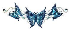 Magic Flame Needfire Butterfly Hengeband - Headband Anne Stokes - High Priestess Jewelry