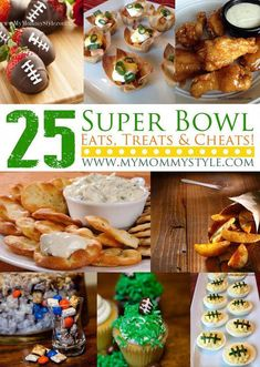 Superbowl Sunday – 25 Game Day Appetizers, Snacks and Foods superbowl-treats-appetizers-recipes-game-day-football-food-party Football Party Foods, Football Food, Super Football, Game Day Appetizers, Appetizer Recipes, Appetizers Superbowl, Snack Recipes, Super Bowl Essen, Healthy Superbowl Snacks