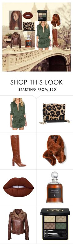 """afternoon in the city"" by laura-rudzoshka on Polyvore featuring mode, Obel, Lanvin, Tory Burch, Lime Crime, Serge Lutens et Gucci"