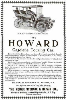 1904 Howard Automobile Advertisement
