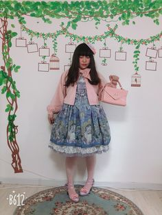 ✨  MariaWhite さん ✨ https://aliceholic.com/posts/9254  View more 『Lolita fashion』✨ https://aliceholic.com/tags/lolita-fashion  The image is posted with approval of the author