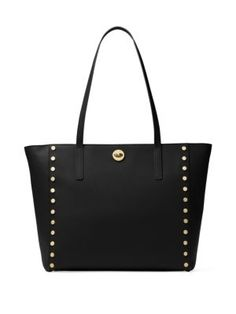 MICHAEL MICHAEL KORS Large Rivington Studded Leather Tote. #michaelmichaelkors #bags #leather #hand bags #tote #