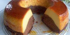 Les enfants adorent sûrement le gâteau de semoule! Notre recette d'aujourd'hui est Gâteau de semoule au caramel et chocolat, très simple à préparer.