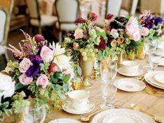 Wedding Flowers - Fruits + Flowers