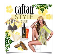 """""""Summer Caftan"""" by clotheshawg ❤ liked on Polyvore"""