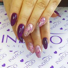 Amazing design nails by Agata Kaczmarek Indigo Educator :) Find more inspiration…