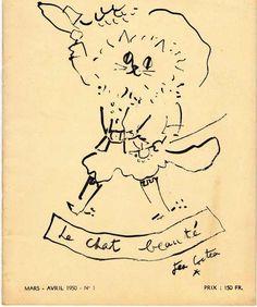 Le Chat Beaute - Jean Cocteau