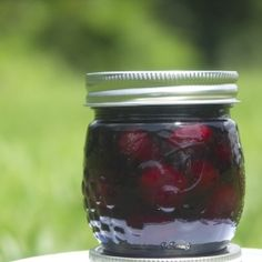 Rum Soaked Preserved Cherries and Boozy Cherry Molasses; both every bit as delicious as they sound!