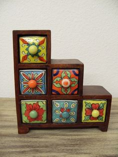 lovely ceramic drawers