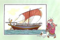 Marin1 08 : Navire de commerce grec
