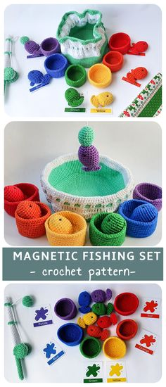 The best toys you can give to a child are made by yourself <3 #amigurumi #crochet #crochetrainbow #rainbow #educationaltoys #christmascrochet #babyshower #montessori #montessori crochet #waldorf toys #crochet gift #crochetfish #fishingset #flashcards #stackingtoy #sortingtoy #sortingrings