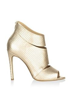 Federica Bassi Zapatos peep toe (Oro)