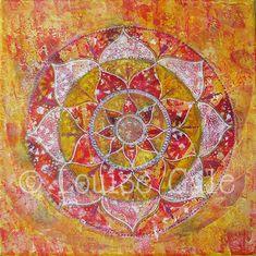 Mandala Paintings | Louise Gale Mixed Media Color Artist & Classes