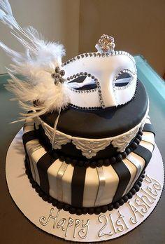 Masquerade Cake, via Flickr.