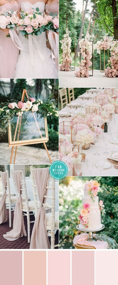 Pink Color Combos for garden Weddings pink wedding, garden wedding pink color combos, pink color scheme, pink color palette, pink wedding color Pink Color Schemes, Color Combos, Wedding Themes, Wedding Styles, Wedding Dresses, Perfect Wedding, Dream Wedding, Pink Wedding Colors, Earth Tone Colors