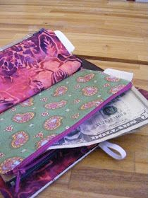 DIY Wallet for Cash Envelope System Budgeting tutorial