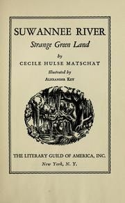 Cover of: Suwannee river by Cecile Hulse Matschat