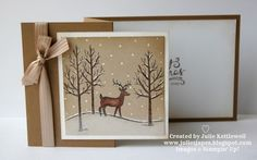 White Christmas for Coffee and Card
