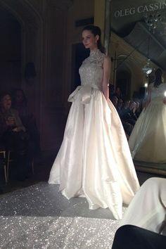 Oleg Cassini New York Bridal Market 2015 #NYbridalweek