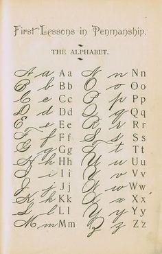 Alphabet A, Handwriting Alphabet, Hand Lettering Alphabet, Calligraphy Handwriting, Calligraphy Alphabet, Penmanship, Cursive Letters, Alphabet School, English Handwriting