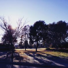 Canberra winter morning
