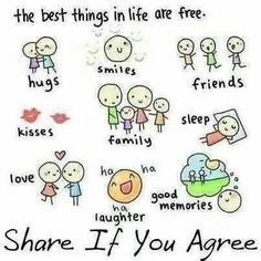 best things in life are free meaning
