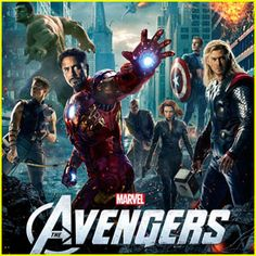 It's hard to get more awesome than The Avengers