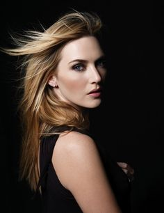 Strong face; strong woman...Kate Winslet