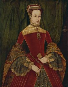 Portrait of a woman, aged sixteen, previously identified as Mary Fitzalan, Duchess of Norfolk, 1565