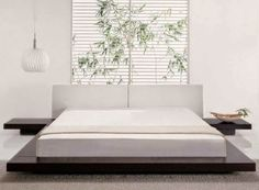 Awesome comfortable minimalist white bedroom designs: a touch of purity
