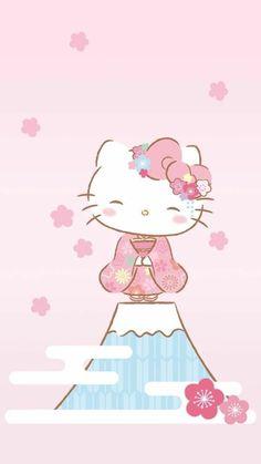 Hello Kitty Iphone Wallpaper, Sanrio Wallpaper, Wallpaper Iphone Cute, Cartoon Wallpaper, Cute Wallpapers, Screen Wallpaper, Hello Kitty Art, Hello Kitty My Melody, Sanrio Hello Kitty