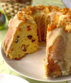 Babka serowo-cytrynowa Polish Recipes, Polish Food, Dream Cake, Cookie Bars, Dessert Recipes, Food And Drink, Cooking Recipes, Easter, Sweets