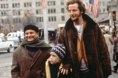 "Macaulay Culkin, Joe Pesci and Daniel Stern in ""Home Alone 2: Lost in New York"" (1992)"
