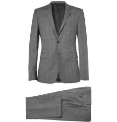Burberry London - Prince of Wales Check Slim-Fit Wool and Cashmere-Blend Suit MR PORTER
